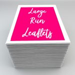 Large run leaflets